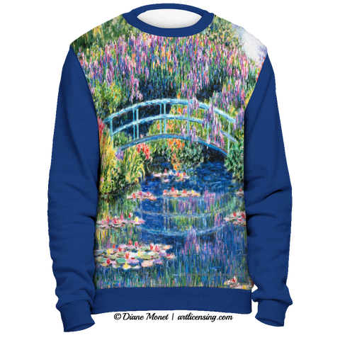 Diane Monet Calm Afternoon sweatshirt