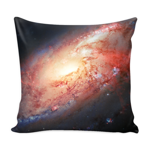Nasa-Hubble: Galaxy M 106 pillow cover