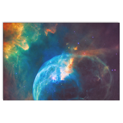 Nasa-Hubble: Bubble Nebula  canvas wrap