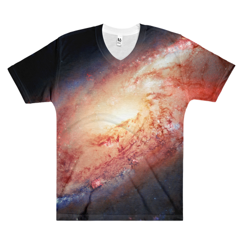 Nasa-Hubble: Galaxy M 106 t-shirt