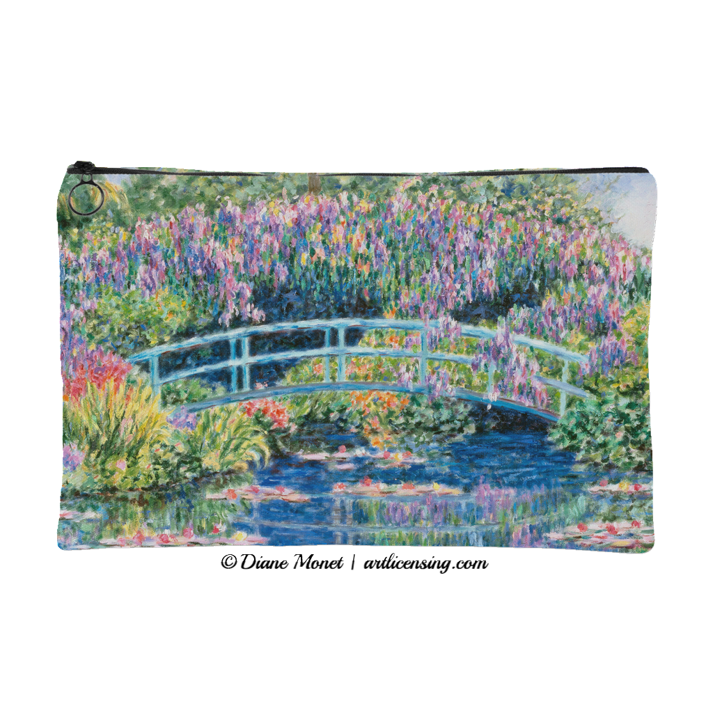 Diane Monet Calm Afternoon pouch