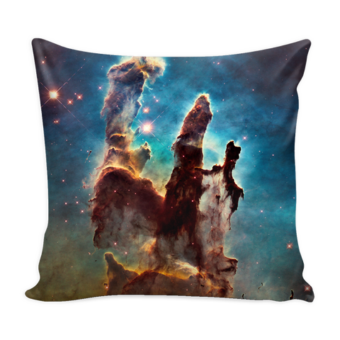 Nasa-Hubble: Pillars of Creation pillow cover