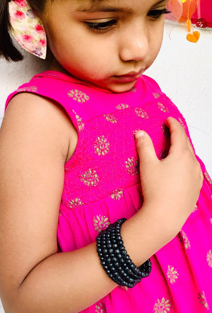 Kids Beaded Wrap Bracelet