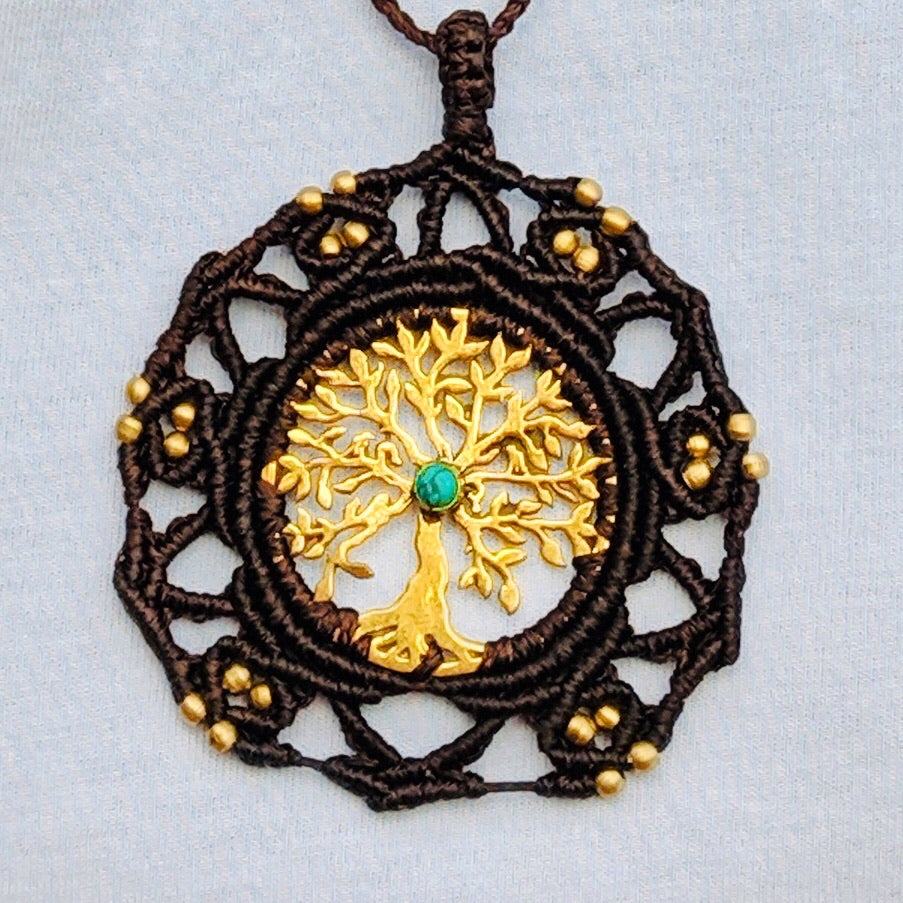 Macrame Pendant tree of life