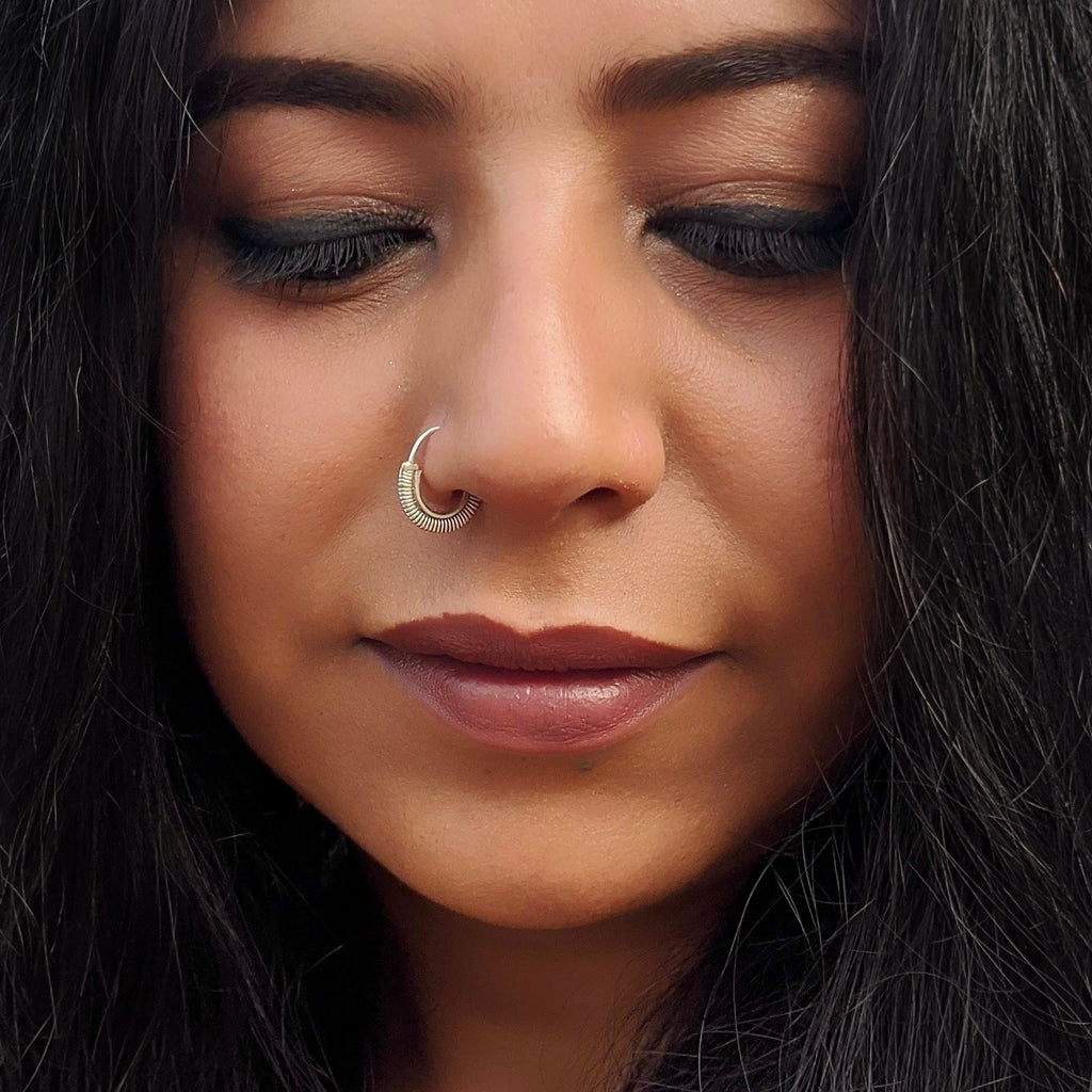 Tribal 'U' Wire Nose ring