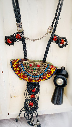 Vintage Tribal Necklace