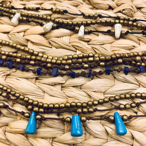 Handcrafted Macrame Bead Necklace