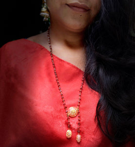 Kundan Garnet Necklace