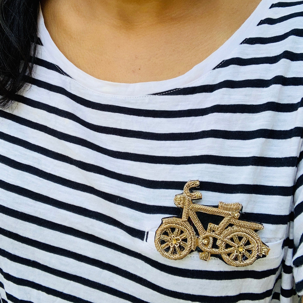 Cycle Brooch