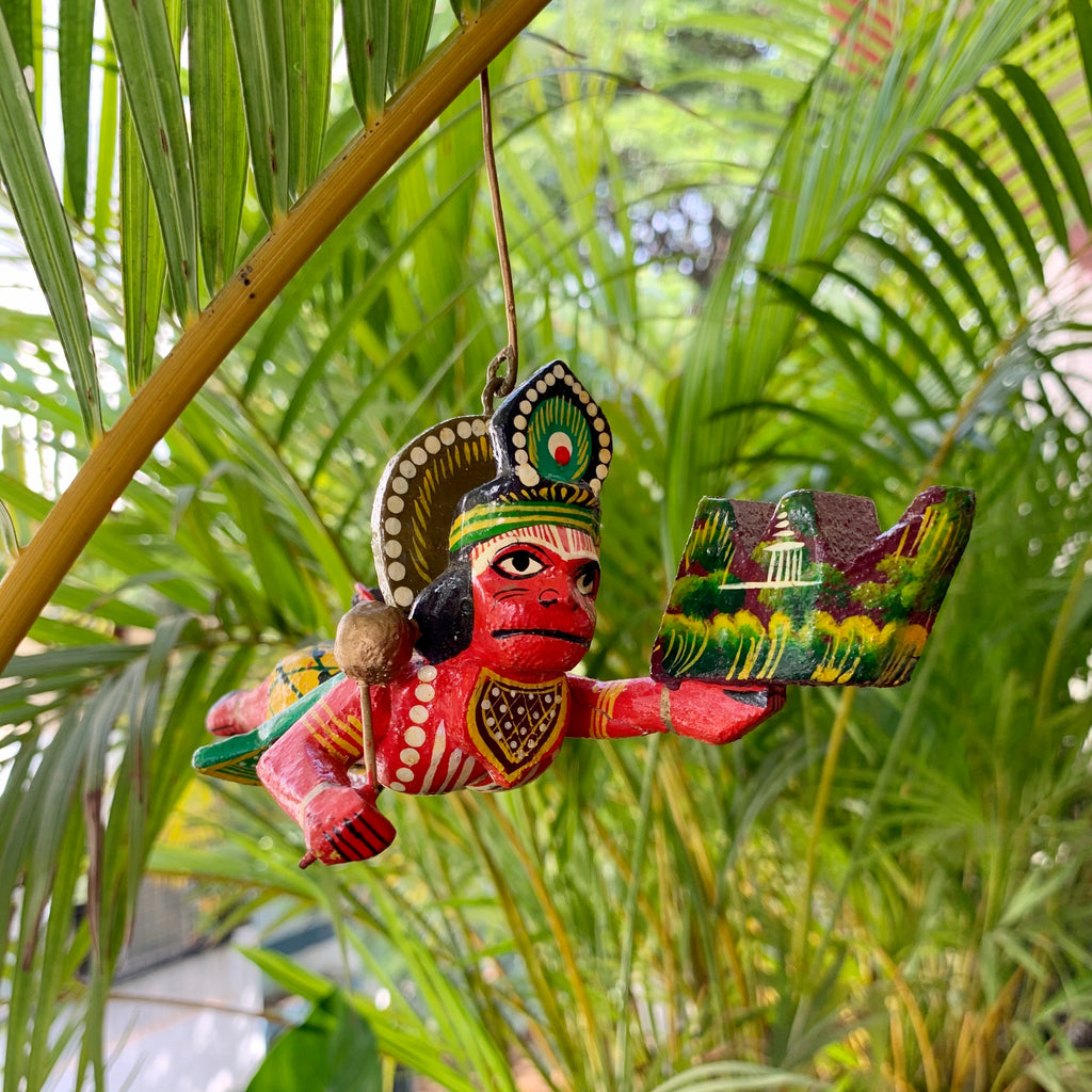 Hand painted Hanuman