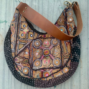 Ethnic hobo Embroidery Shoulder Bag