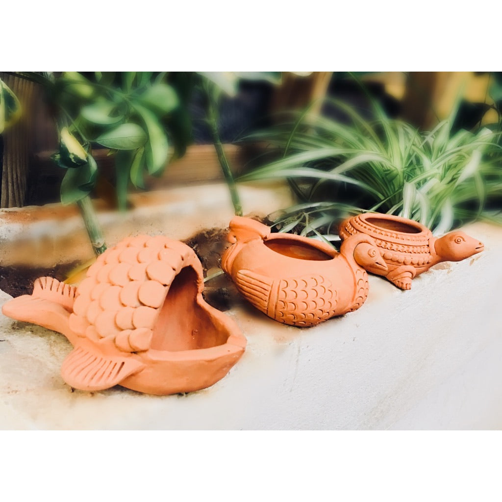 Handmade Clay Ashtrays