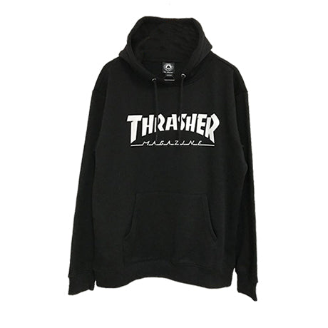 HOMETOWN PULLOVER BLACK (HOOD LOGO)