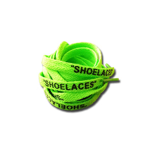 "90CM ""SHOELACES"" GREEN"
