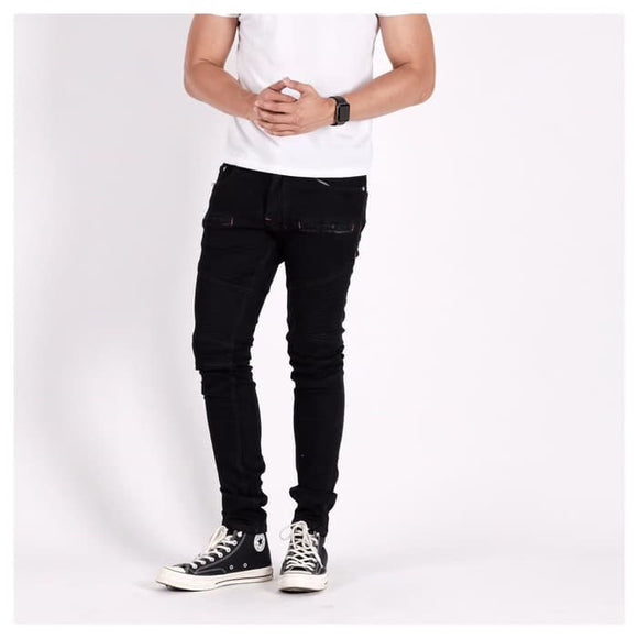A1 BIKER DENIM BLACK