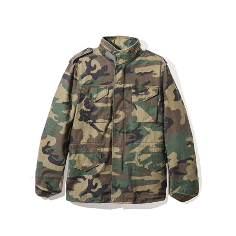 DEFENDER JACKET CAMO GREEN