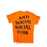 ASSC UNDEFEATED X TEE ORANGE BLACK