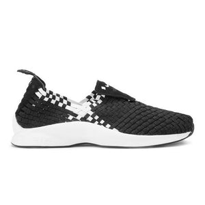 AIR WOVEN BLACK/WHITE