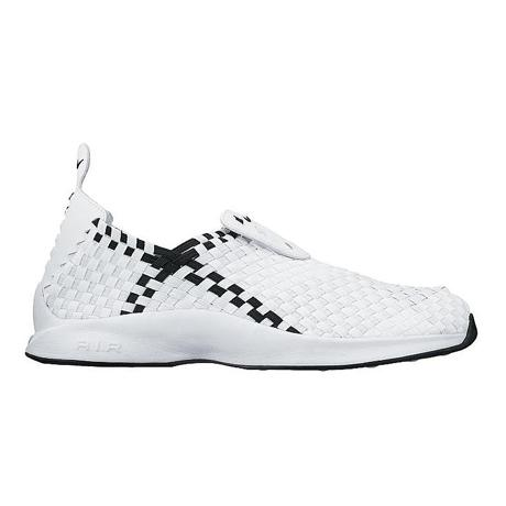 AIR WOVEN WHITE/BLACK
