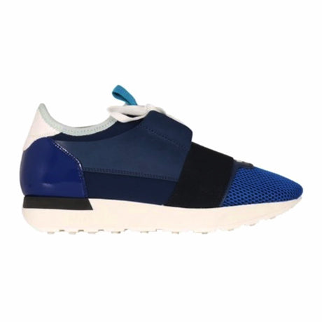RACE RUNNERS BLUE WHITE WHITE