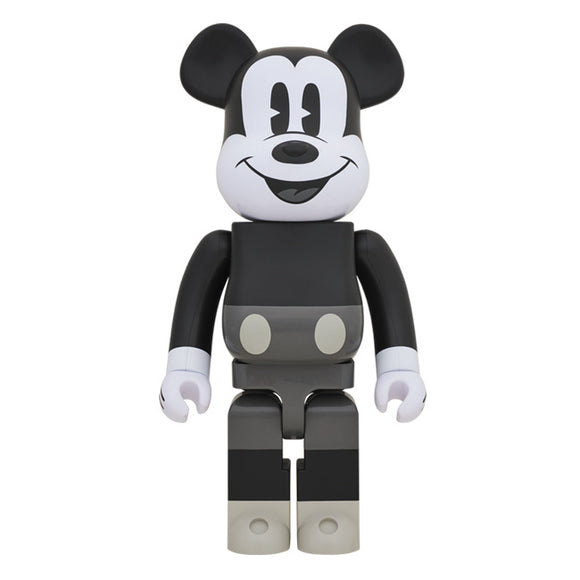 BEARBRICK MICKEY MOUSE (B&W VER.) 1000%