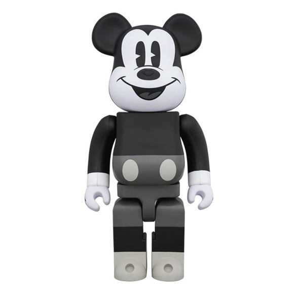 BEARBRICK MICKEY MOUSE (B&W VER.) 400%