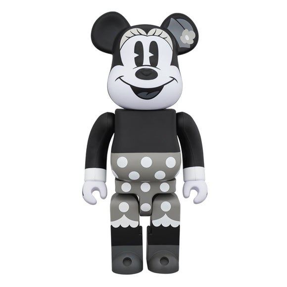 BEARBRICK MINNIE MOUSE (B&W VER.) 400%