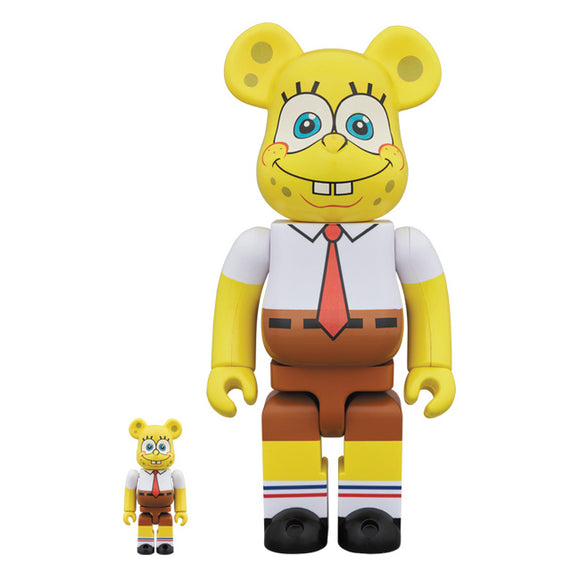 BEARBRICK SPONGEBOB 400% & 100%