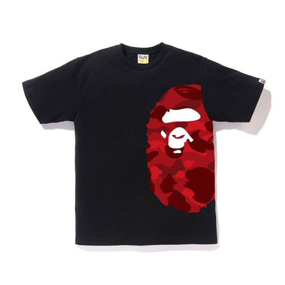 COLOR CAMO SIDE BIG APE BLACK/RED
