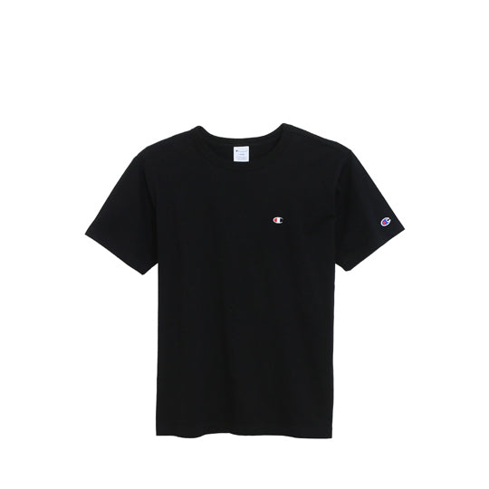 CHAMPION BASIC SMALL LOGO T-SHIRT BLACK