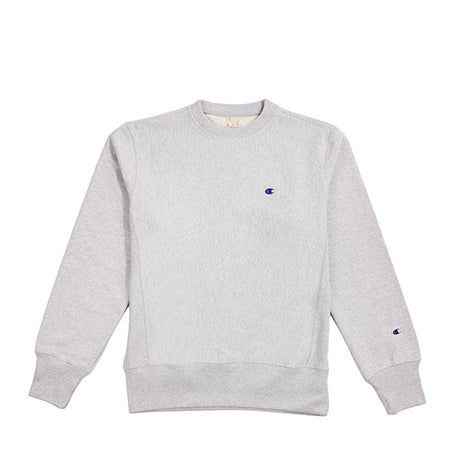 CHAMPION CREWNECK SWEATSHIRT LIGHT GREY