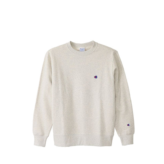 CHAMPION CREWNECK SWEATSHIRT OATMEAL GRAY