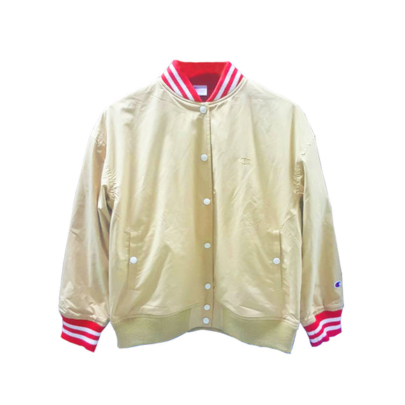 CHAMPION BACK LOGO JACKET MUSTARD