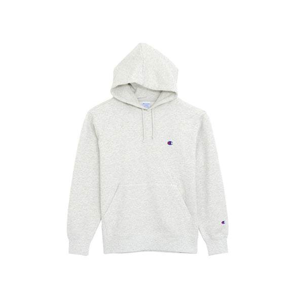CHAMPION HOODIE OATMEAL GREY (SMALL LOGO)