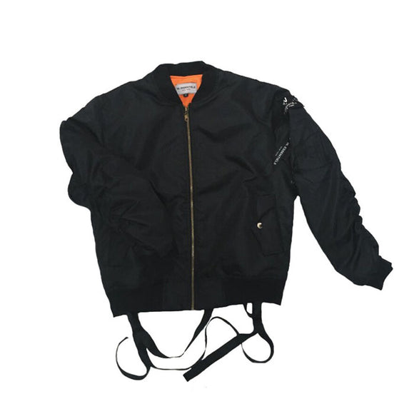 CHARAIX BOMBER JACKET BLACK