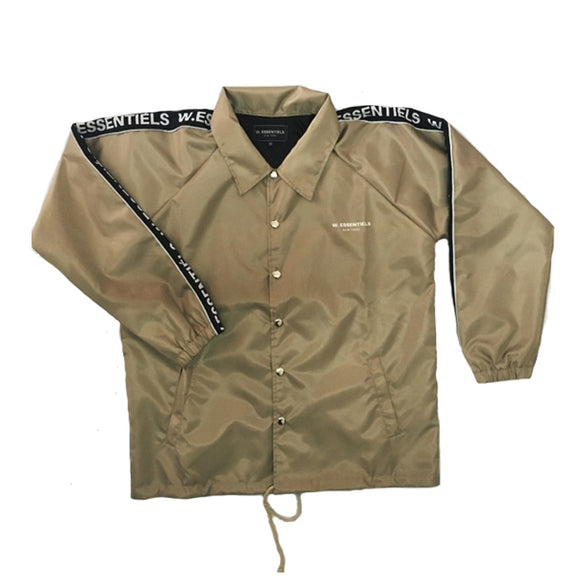 DELIBES WINDBREAKER ALMOND KHAKI