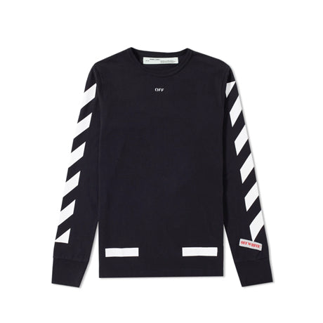 DIAGONAL ARROWS LONG SLEEVE TEE