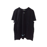 DIAG TEMPERATURE S/S TEE SS18 BLACK WHITE
