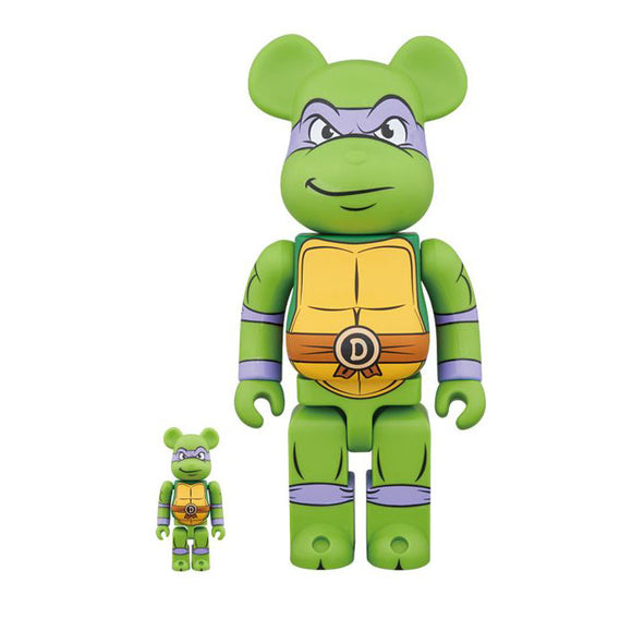 BEARBRICK DONATELLO 100% 400%