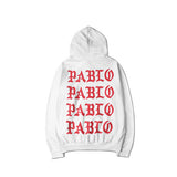I FEEL LIKE PABLO-HOODIE-WHITE/RED