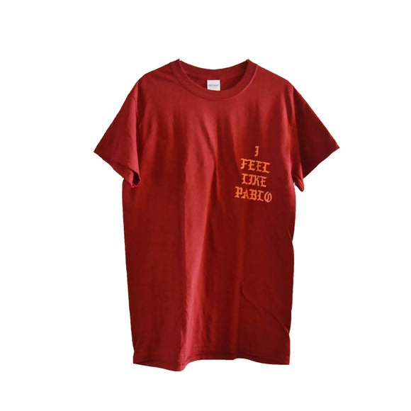 I FEEL LIKE PABLO TEE RED/ORANGE