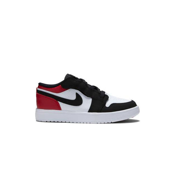 JORDAN 1 LOW BLACK TOE (PS)
