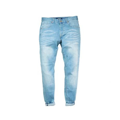 LAKH JOGGER STONE WASH JEANS LIGHT BLUE
