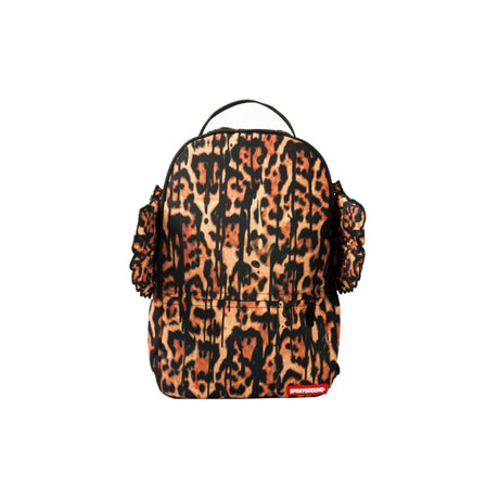 LEOPARD DRIP WINGS BACKPACK