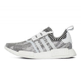 NMD R1 GLITCH CAMO WHITE BLACK