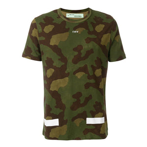 OFF-WHITE CAMOUFLAGE TEE SS ALL OVER