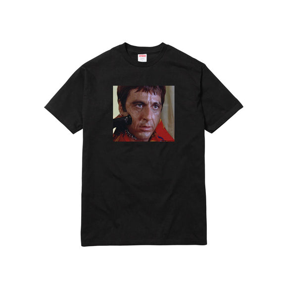 SCARFACE SHOWER TEE BLACK