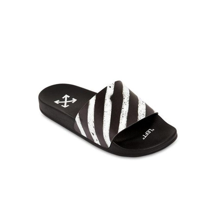 94f9a2f9b SPRAY STRIPES SLIDES BLACK WHITE – KXStart.ID