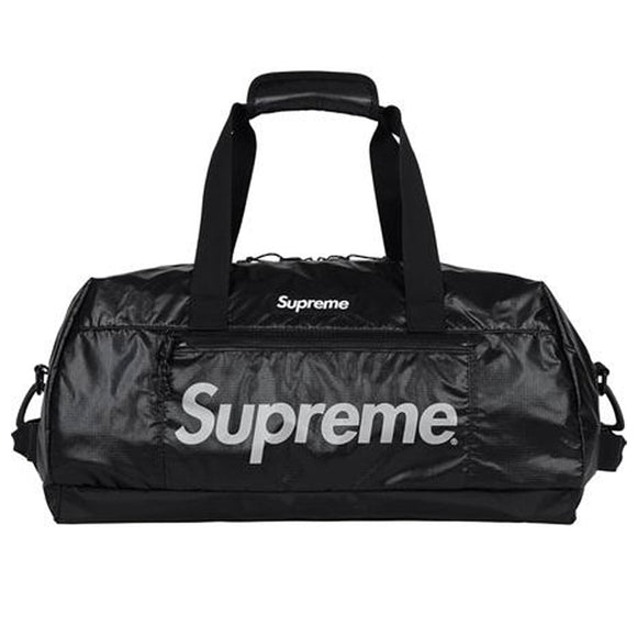 SUPREME DUFFLE BAG FW17 BLACK