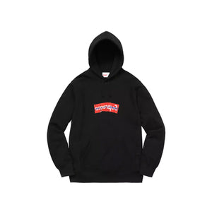 SUPREME COMME DES GARCONS SHIRT BOX LOGO HOODED SWEATSHIRT